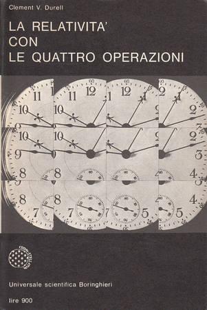 La relativita' con le quattro operazioni