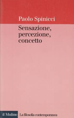 Sensazione, percezione, concetto