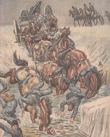 La tribuna illustrata. Anno XII, n. 12, 20 marzo 1904. Fronte [Scherma]: Il più celebre duello del secolo: Pini - San Malato. Retro: Un attentato dei Tungusi alla ferrovia transiberiana