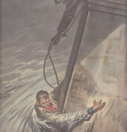 La tribuna illustrata. Anno XXXIX, n. 14, 5 aprile 1931. Fronte: IL PRIMO VIAGGIO DEL NAUTILUS, IL SOTTOMARINO... Retro: OLTRE UN MIGLIAIO DI CINGHIALI E' STATO UCCISO IN UNA RECENTE BATTUTA DI CACCIA ORGANIZZATA NELLA ZONA TRA BRUSSA E GHEMLIK...