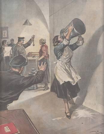 La tribuna illustrata. Anno XXXVIII, n. 47, 23 novembre 1930. Fronte: UN MURATORE, IN UN MOMENTO DI ESALTAZIONE AVENDO DECISO DI ATTRAVERSARE IL TEVERE A NUOTO... Retro: COME PER UNA FORZA MAGNETICA LA FANCIULLA SI SENTIVA ATTIRARE SEMPRE PIU' VERSO