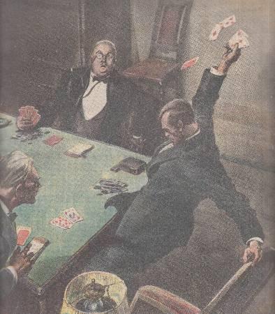La tribuna illustrata. Anno XXXIX, n. 36, 6 settembre 1931. Fronte: La donna vendicativa... Retro: Pericolo delle finestre aperte...