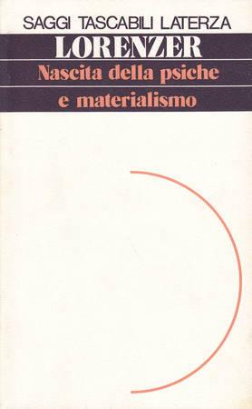 Nascita della psiche e materialismo [Attenzione: sottolineato a matita]