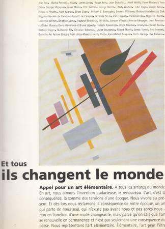 Et tous ils changent le monde. Lyon 93 deuxième biennale d'art contemporain
