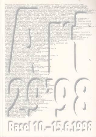 Art 29'98. Die Internationale Kunstmesse. Kunst des 20. Jahrhunderts - Le salon international d'art. Art du 20e siècle - The International Art Fair. 20th Century Art - La mostra internazionale d'arte. Arte del 20o secolo