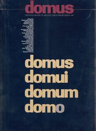 Domus. 744. Dicembre 1992