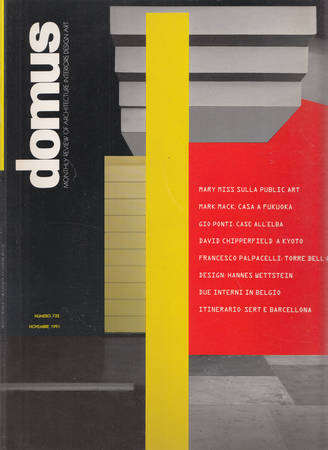 Domus. 732. Novembre 1991