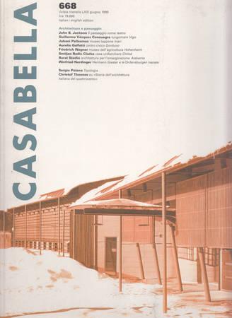 Casabella. 668. Giugno 1999
