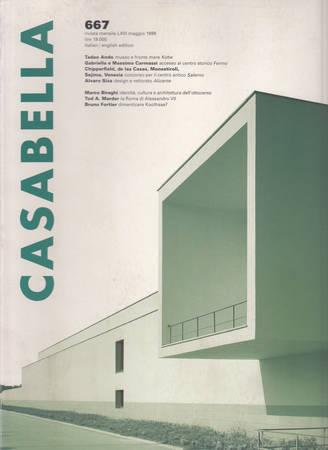 Casabella. 667. Maggio 1999