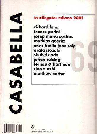 Casabella. 690. Giugno 2001