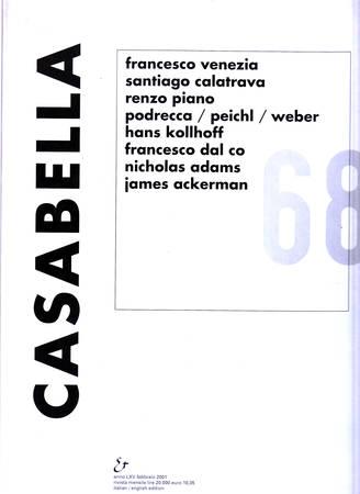 Casabella. 686. Febbraio 2001