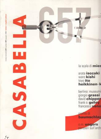Casabella. 657. Giugno 1998