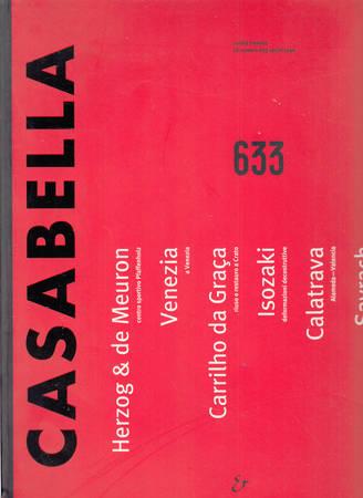 Casabella. 633. Aprile 1996