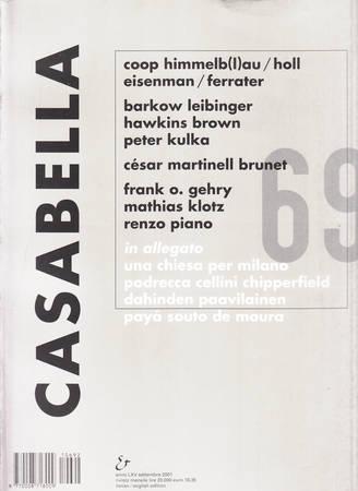 Casabella. 692. Settembre 2001