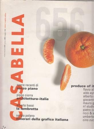 Casabella. 656. Maggio 1998