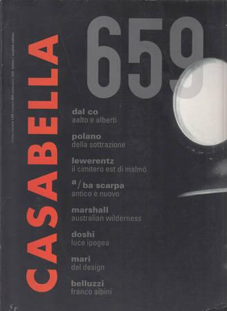 Casabella. 659. Settembre 1998