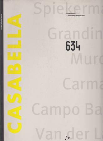 Casabella. 634. Maggio 1996