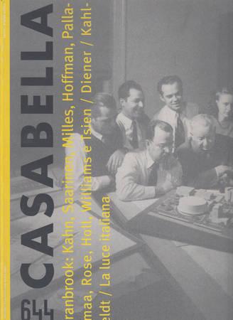 Casabella. 644. Aprile 1997