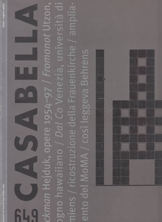 Casabella. 649. Ottobre 1997