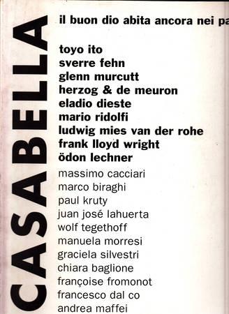 Casabella. 684-685. Dicembre 2000 - Gennaio 2001
