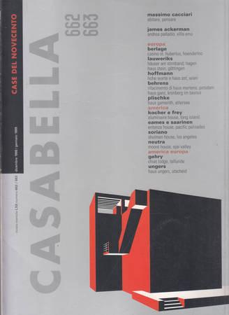 Casabella. 662-663. Dicembre 1998 - Gennaio 1999