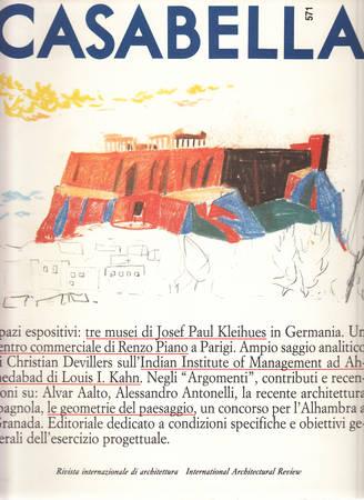 Casabella. 571. Settembre 1990
