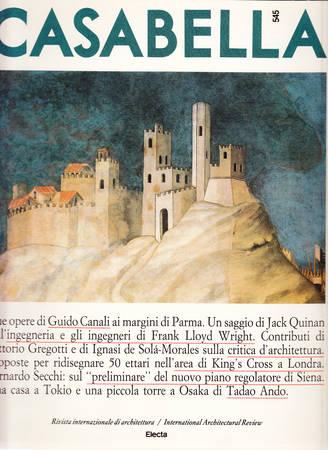 Casabella. 545. Aprile 1988