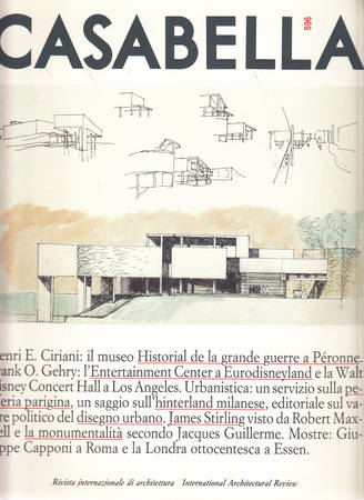 Casabella. 596. Dicembre 1992