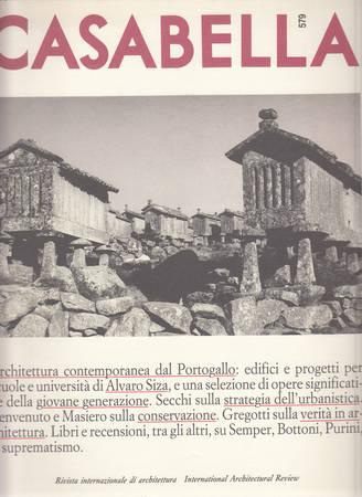 Casabella. 579. Maggio 1991