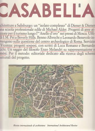 Casabella. 569. Giugno 1990