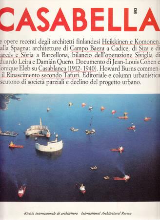 Casabella. 593. Settembre 1992