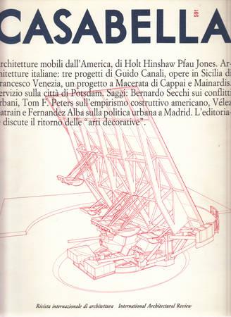 Casabella. 591. Giugno 1992