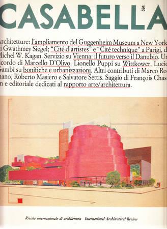 Casabella. 594. Ottobre 1992