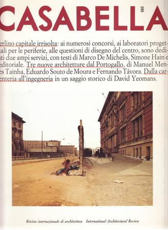 Casabella. 595. Novembre 1992