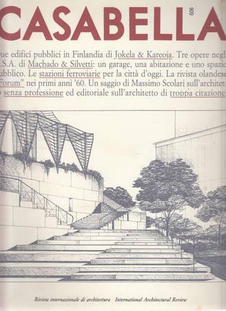 Casabella. 606. Novembre 1993