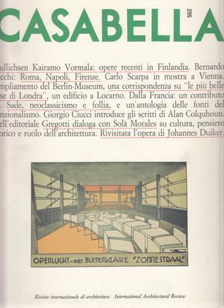 Casabella. 562. Novembre 1989
