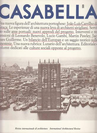 Casabella. 589. Aprile 1992