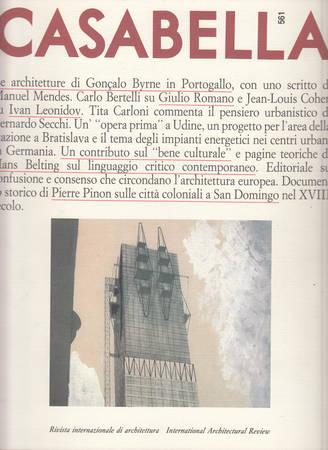 Casabella. 561. Ottobre 1989