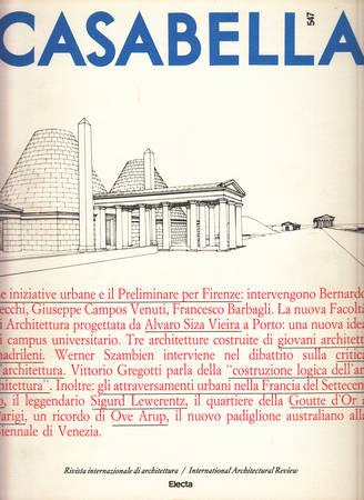 Casabella. 547. Giugno 1988