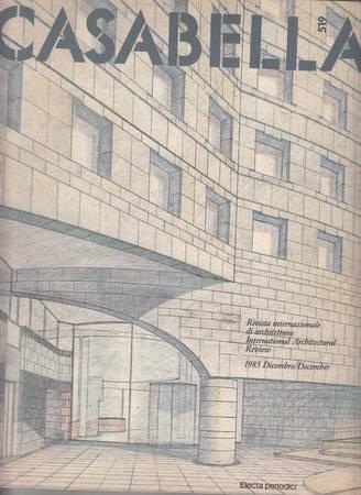 Casabella. 519. Dicembre 1985