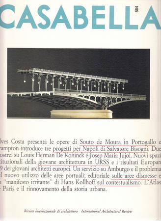 Casabella. 564. Gennaio 1990