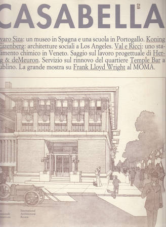 Casabella. 612. Maggio 1994
