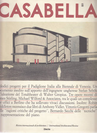 Casabella. 551. Novembre 1988