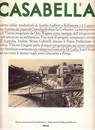 Casabella. 550. Ottobre 1988