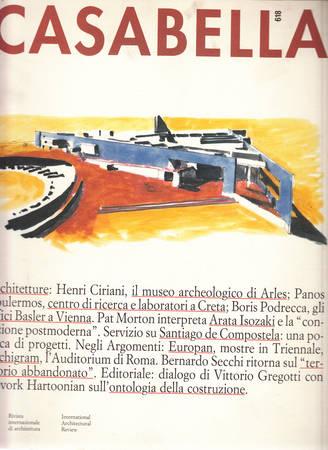 Casabella. 618. Dicembre 1994