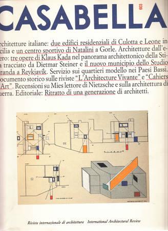 Casabella. 603. Luglio-Agosto 1993