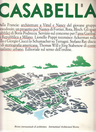 Casabella. 590. Maggio 1992
