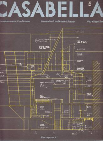 Casabella. 514. Giugno 1985