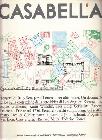 Casabella. 556. Aprile 1989