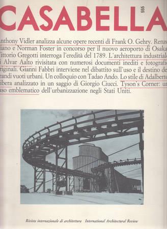 Casabella. 555. Marzo 1989